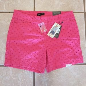 The Limited Hot Pink Shorts - Sz 4 NWT!